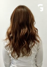 deep warm copper red hair color